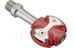Speedplay Zero Pedals Stainless steel red/silver